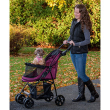 Load image into Gallery viewer, Happy Trails Lite NO-ZIP Pet Stroller Boysenberry