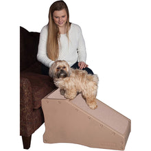 Load image into Gallery viewer, Pet Gear Non-Slip Step & Ramp Combination Tan