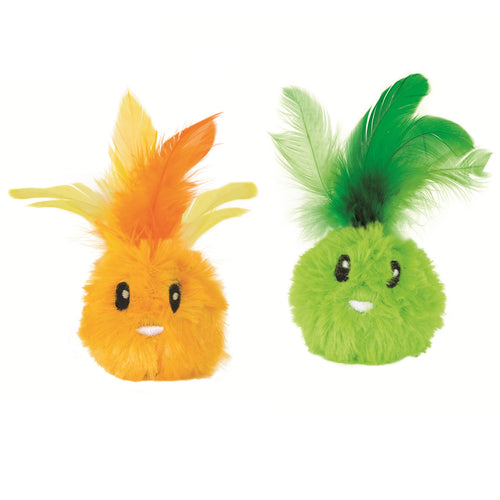 Petstages Feather Bunnyz Catnip Filled Cat Toy