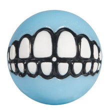 Load image into Gallery viewer, Rogz Puppy Grinz Treat Dispensing Ball Blue va0