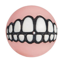 Load image into Gallery viewer, Rogz Puppy Grinz Treat Dispensing Ball Pink va0