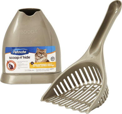 Booda Scoop 'N' Hide Cat Litter ScoopBooda Scoop 'N' Hide Cat Litter Scoop - Titanium