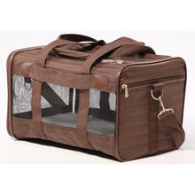 Load image into Gallery viewer, Sherpa Original Deluxe Pet Carrier Brown