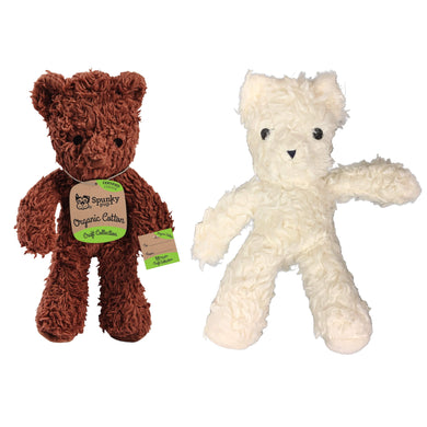 Spunky Pup Organic Cotton Bear va0