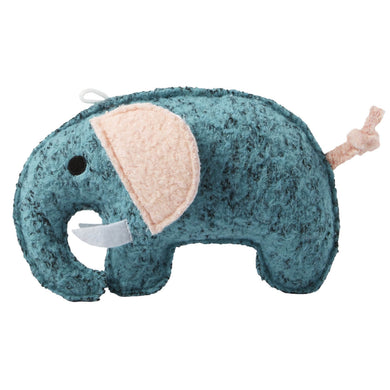 Spunky Pup Woolies Elephant Dog Plush Toy va0