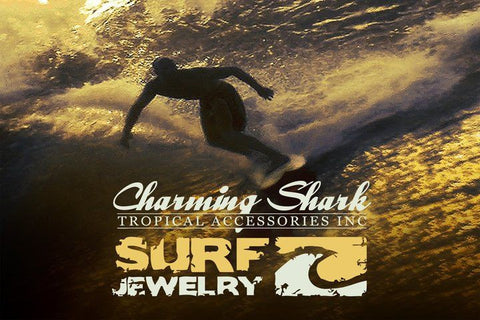 Charming Shark Surf Jewelry