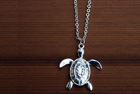 Charming Shark Sea Turtle Necklace # 10