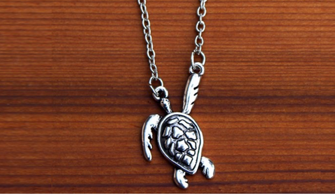 Charming Shark Sea Turtle Necklace #8