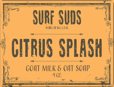 Surf's Up Surf Suds Citrus Splash Soap