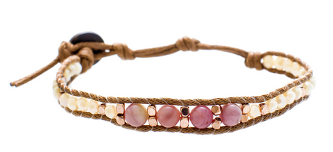 Lotus and Luna Desert Bloom I Left My Heart in Sedona Bracelet