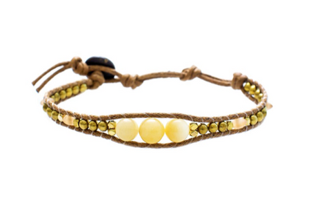 Lotus and Luna Desert Bloom For the Love of Lemonade Bracelet