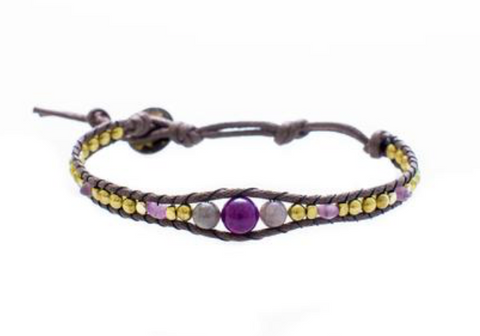Lotus and Luna Desert Bloom Nevada Nights Bracelet
