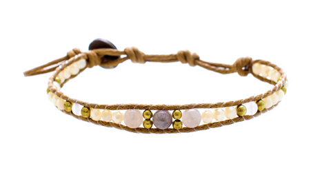 Lotus and Luna desert Bloom Cobra's Kiss Bracelet