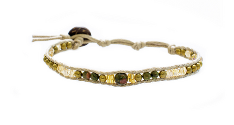 Lotus and Luna Desert Bloom Mother of Succulents Bracelet
