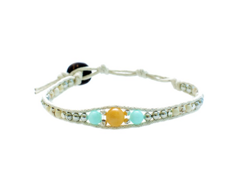 Lotus and Luna Desert Bloom Desert Oasis Bracelet