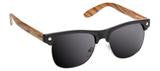Glassy Shredder Black/Wood Sunglasses
