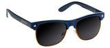 Glassy Shredder Navy/Orange Sunglasses