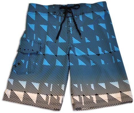 "Just Bones Boardwear Men's Board Shorts ""Triangle"""