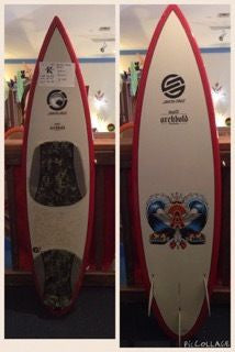 "Santa Cruz 6'1"" Pintail Surfboard"
