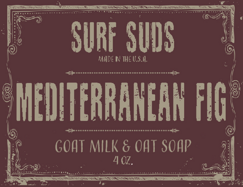 Surf's Up Surf Suds Mediterranean Fig Soap