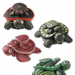 Medium Turtle with Baby Turtle Magnet