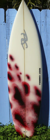 Ricky Carroll 6'4 Rounded Pin Thruster Surfboard