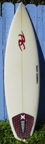 "Ricky Carroll 6'1"" Squash Tail Thruster Surfboard"