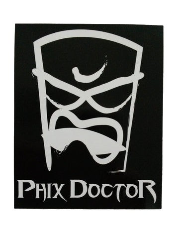 Phix Doctor Sticker