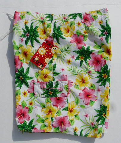 Raya Sun Tropical Hibiscus Board Shorts
