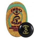 Original Indo Board Rasta -- Deck plus Indo Flo Cushion
