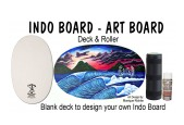 Original Indo Board Art Board -- Deck Plus Roller