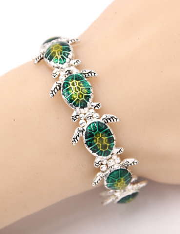 Sea Turtle Stretch Bracelet