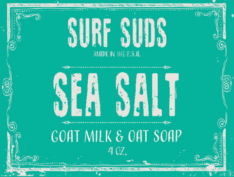 Surf's Up Surf Suds Sea Salt Soap