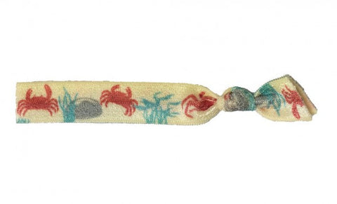 Simbi Bracelet / Hair Tie Red Crab