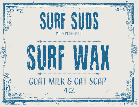 Surf's Up Surf Suds Surf Wax Soap