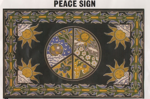 """Peace 1"" Tapestry"