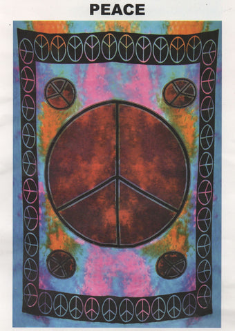 """Peace 2"" Tapestry"