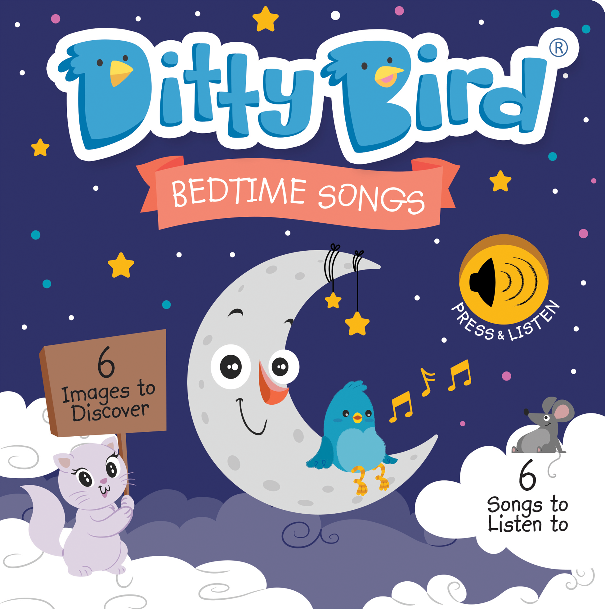 Ditty Bird - Bedtime Songs  (Wholesale only)