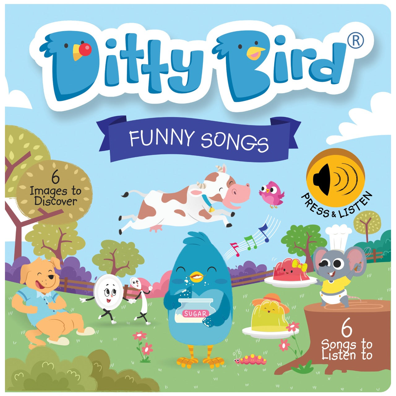 NEW! DITTY BIRD - FUNNY SONGS