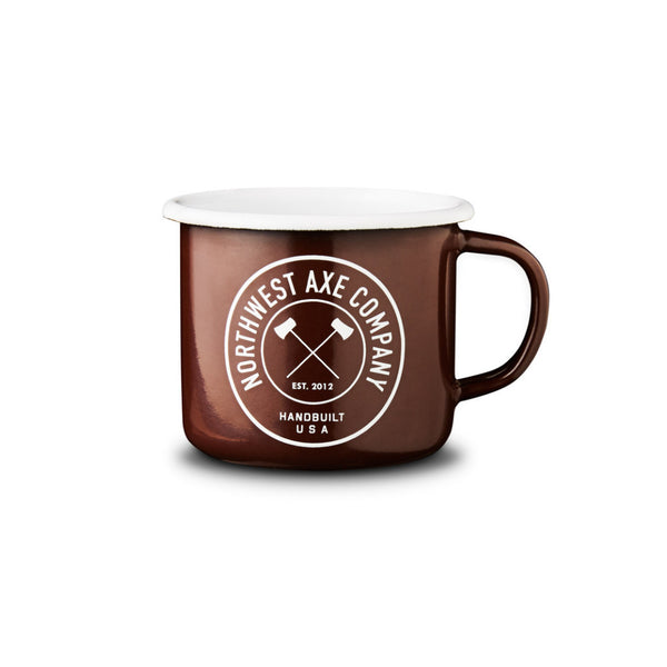 Northwest Axe Company Enamel Camp Mug