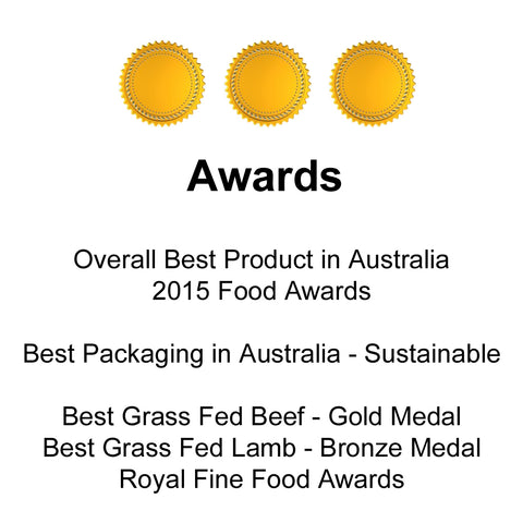 Awarded Overall Best Product in Australia - No Wasted Produce Sustainable Healthy Fun