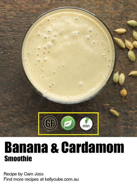 Smoothie Recipe - Banana & Cardamom