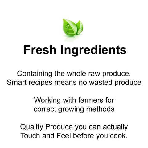 Fresh Ingredients from Farm 2 Plate - Cook Fast Healthy Dinners with an Easy Recipe
