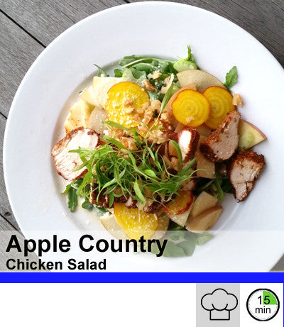 2/4 Person Meal Kit - Blue Label - Apple Country Chicken Salad