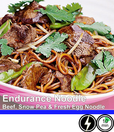 2/4 Person Meal Kit - Blue Label - Endurance Noodles with Asian Beef