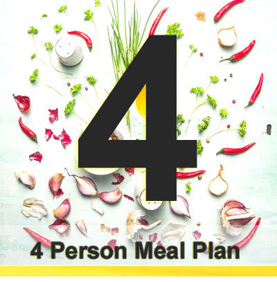 4 People Meal Plan