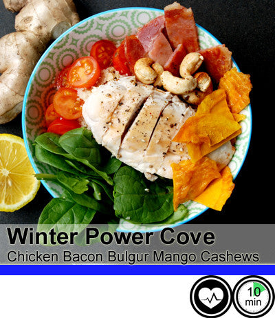 Power Cove - Winter Char Grilled Veg with Chicken and Fresh Spiced Cashews