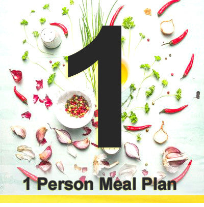 1 Person Gourmet Black Label Plan