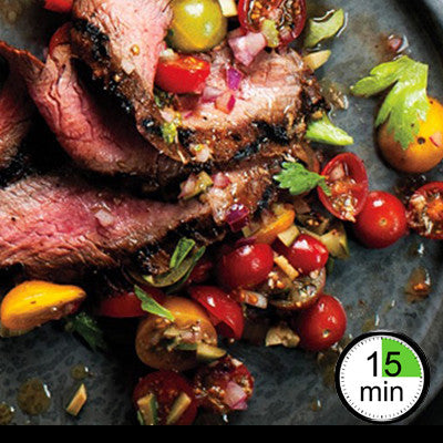 1/2/3/4 Person Meal Kit - Black Label - Eye Fillet with a Bloody Mary Tomato Salad (GF)