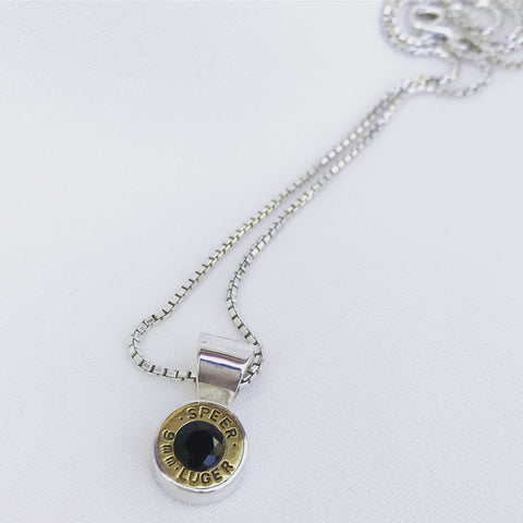 bush bling single bullet pendant - small